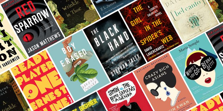 15 books to movie 2018