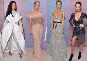 Many A-list celebrities came to attend the Rihanna's fourth annual Diamond Ball in at New York City's Cipriani Wall Street restaurant.