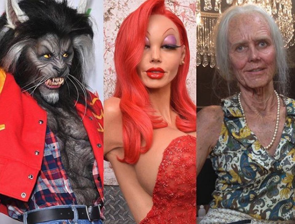 Heidi Klum's Halloween look is leading the list of celebrities' horror looks and costume ideas at the All Hallows' Evening.