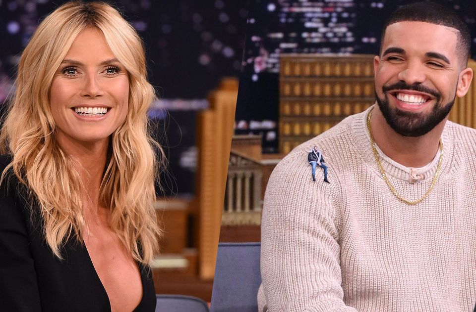 Heidi Klum ignored Drake and never replied back when when he texted her to ask her out on a date.