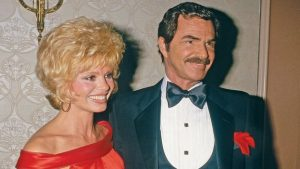 Hollywood legend Burt Reynolds and his second wife Loni Anderson