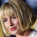 Julianne Hough new hairstyle 2018 is trending again and its breaking the internet as millions of hairstylists are receiving requests to copy and style this new bob hairstyle with bangs.