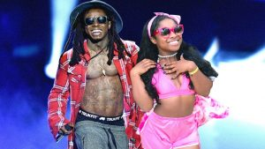 Lil Wayne and his daughter