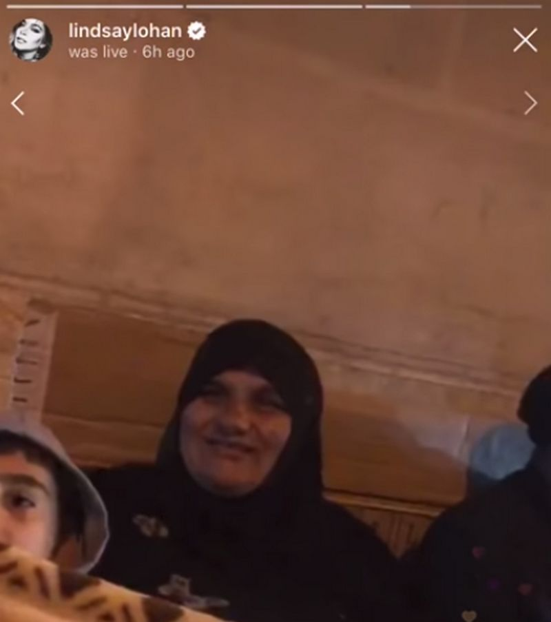 Instagram Live: Lindsay Lohan Punched in the Face by Syrian Refugees