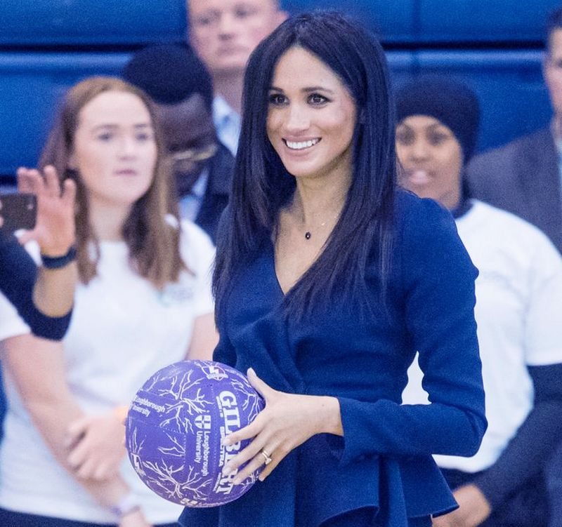 Meghan Markle recently arrived at the Coach Core Awards 2018 at Loughborough University on Monday where she showed her new hairstyle 2018.