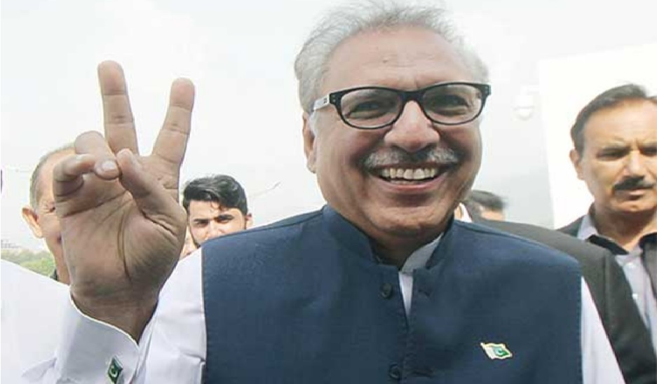 New President of Pakistan Arif Alvi