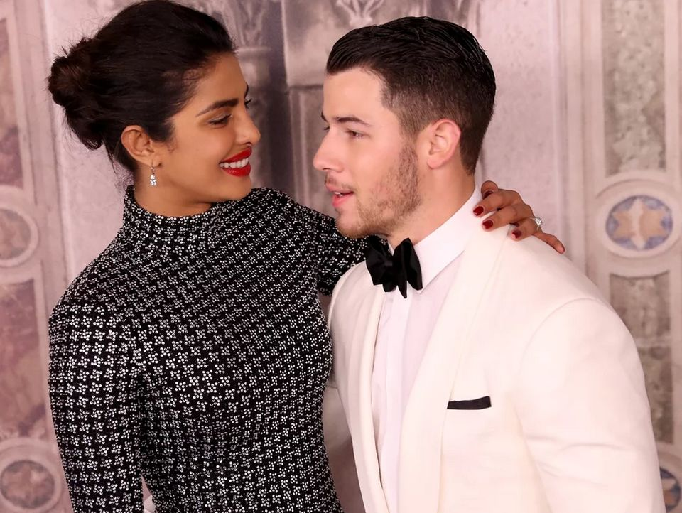 'Love Birds' Priyanka Chopra and Nick Jonas were present at the Ralph Lauren 50th Anniversary Show during New York Fashion Week.