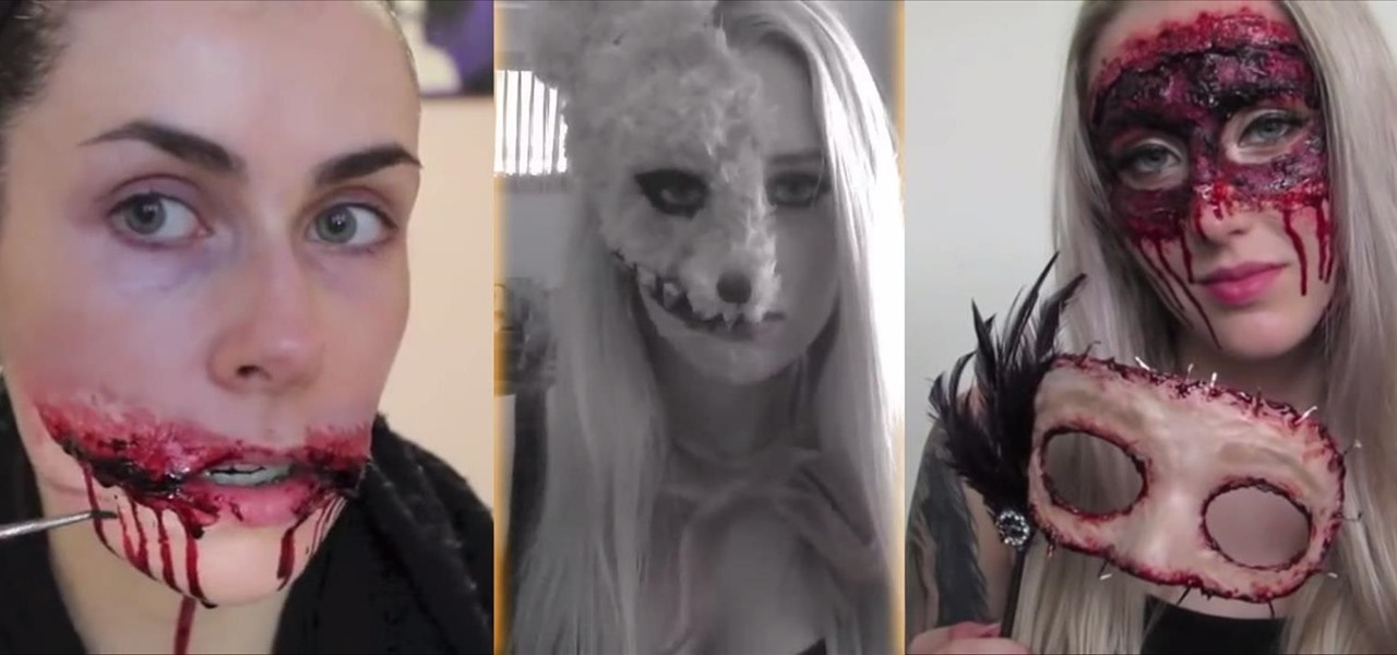 SFX Halloween Makeup Ideas For Women