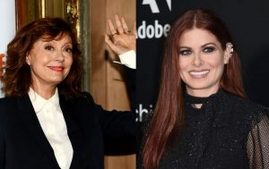 Susan Sarandon and Debra Messing political war between Susan Sarandon and Debra Messing started when a proud Bernie Sanders supporter Sarandon expressed to vote for Donald Trump than Hillary Clinton.