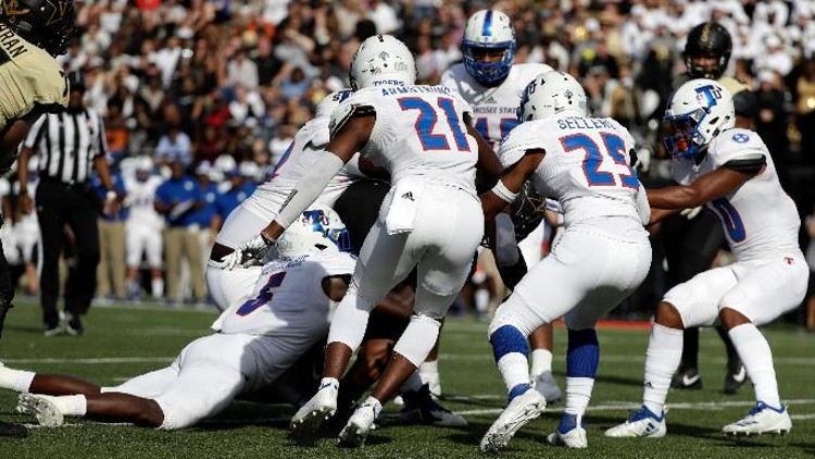 Tennessee State's Christion Abercrombie