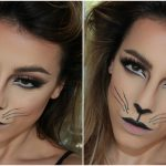 halloween cat makeup 2018