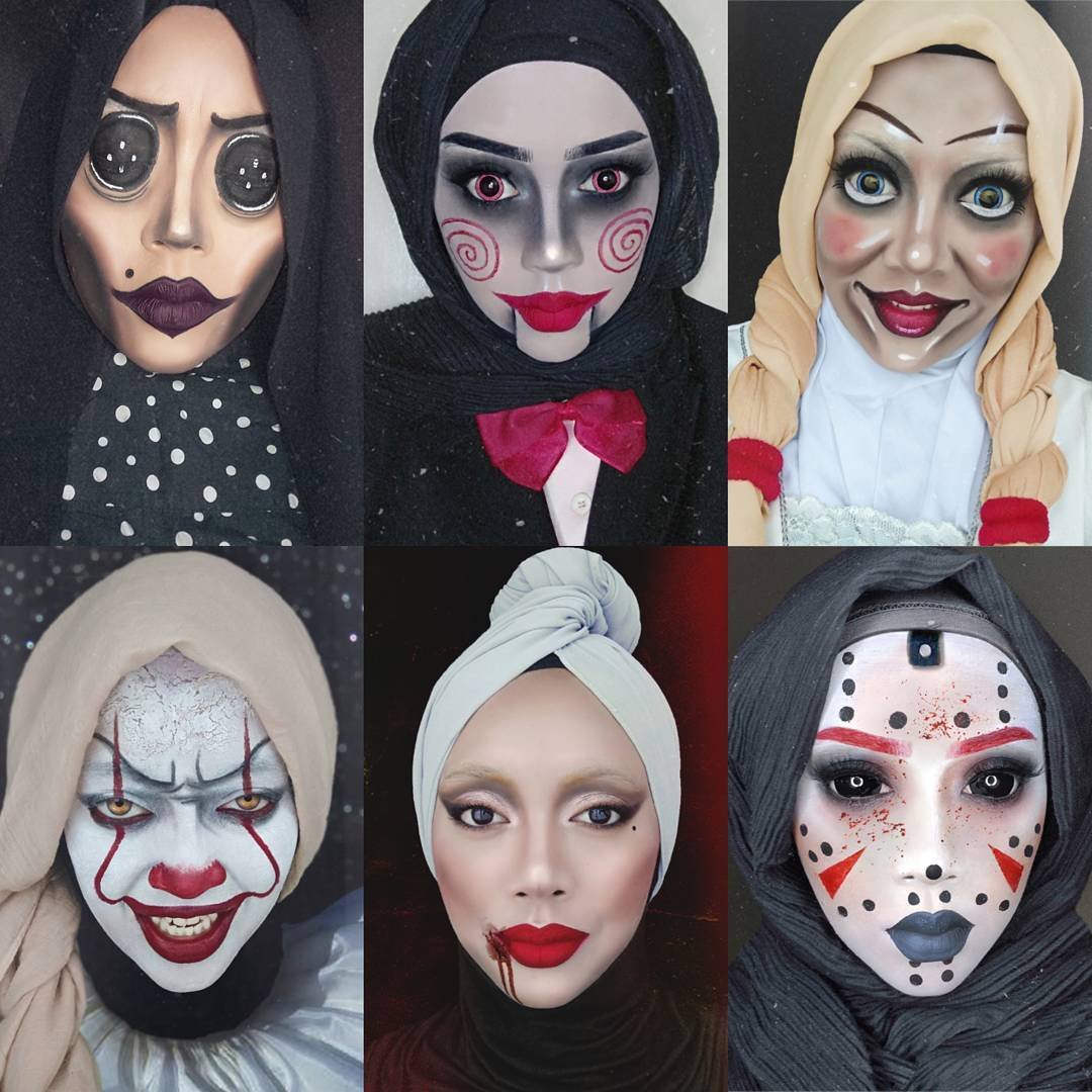 hijab halloween women costumes