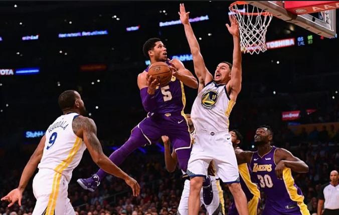 Josh Hart of L.A Lakers