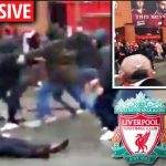 Liverpool fans attacked