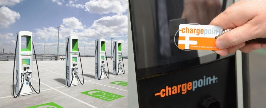 North America's 2 EV Charging Companies