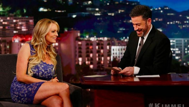 Stormy Daniels, who announced last month a book titled Full Disclosure about her life, recently appeared on