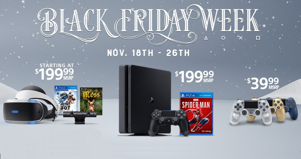 Black Friday deals from Sony