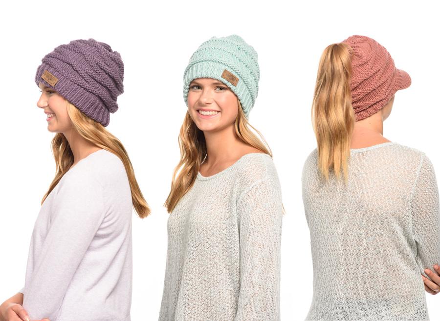caps for women in winter