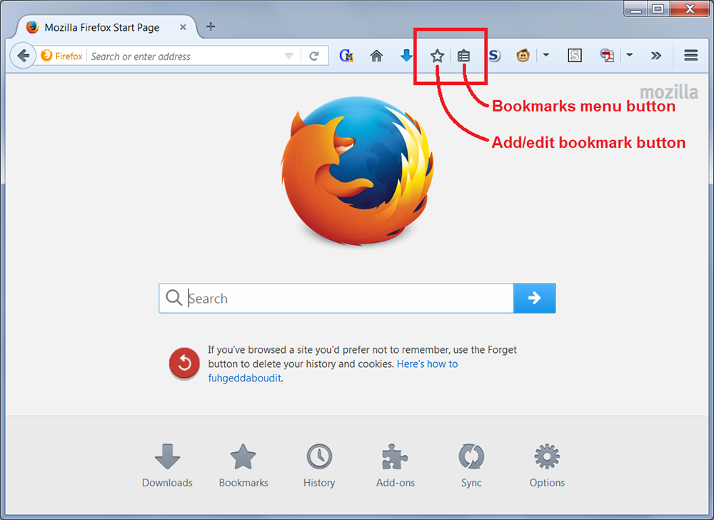 firefox live bookmark
