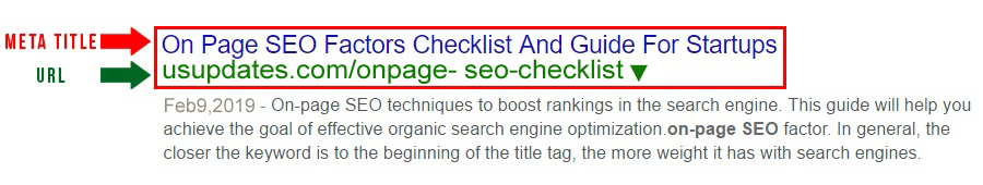 seo friendly page title