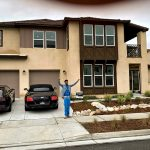 BlueFace poses in front of his new million-dollar California Home Which Costs $10k Taxes Yearly