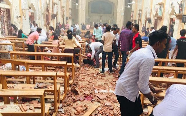 Siri Lanka Church Explosion