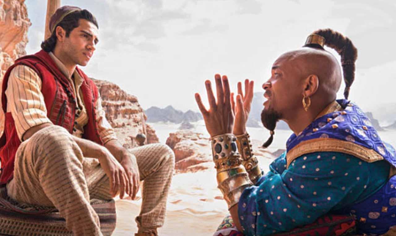 Aladdin Happy Genie