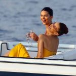 Kendall Jenner Bella Hadid Cannes Yacht