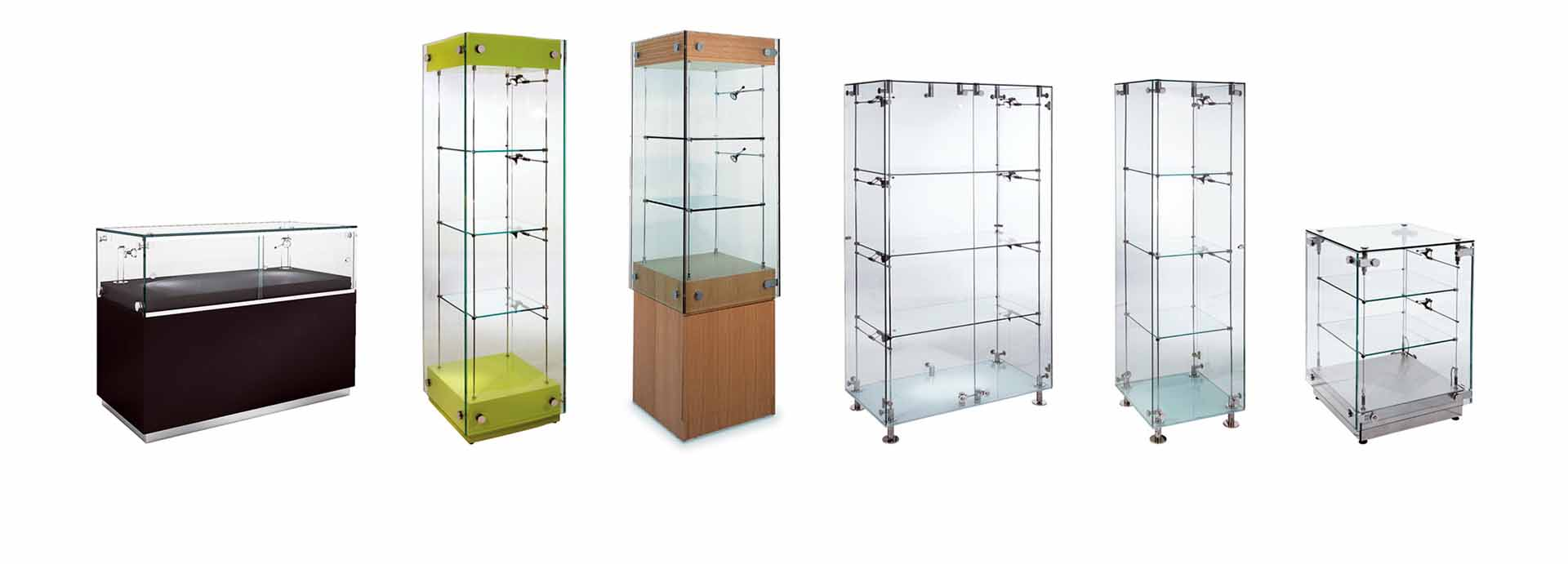 glasss display cabinets