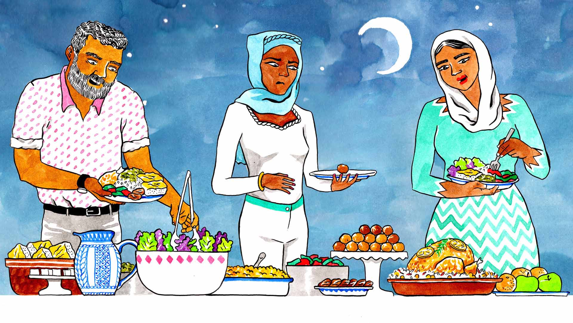 lose weight with Fasting In Ramadan