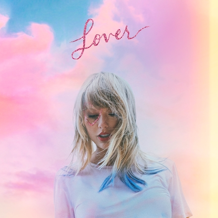 taylor swift new album lover cover page