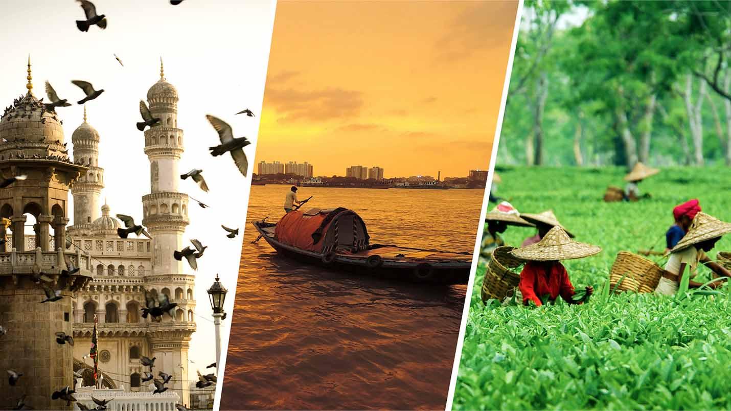 5 destinations in India