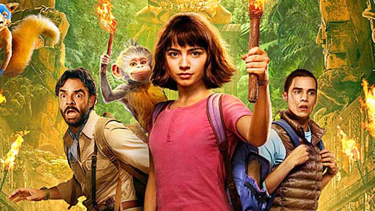 """""""Dora and the Lost City of Gold"""" to Revive Our Childhood"""