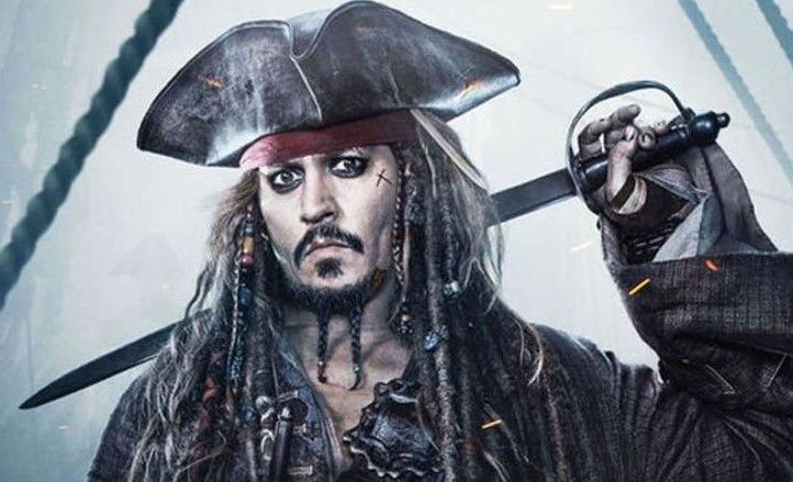 Johnny Depp-Pirates of Caribbean