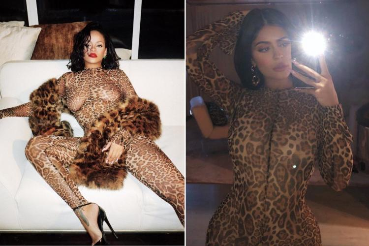 kylie copies rihanna
