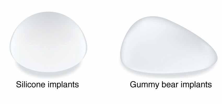 Gummy Bear Vs Saline Vs Silicone Implants