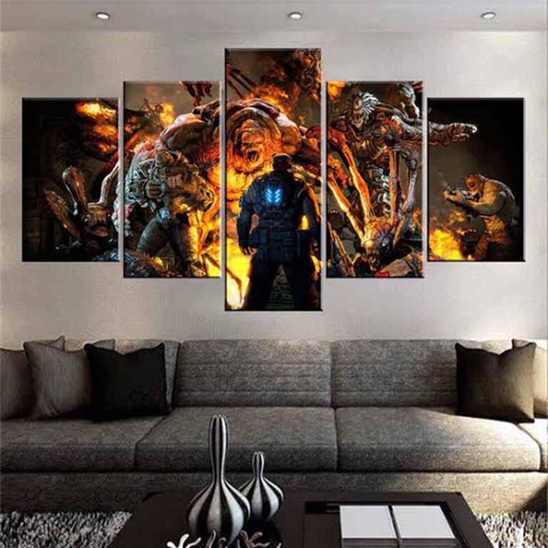 Large Canvas Art