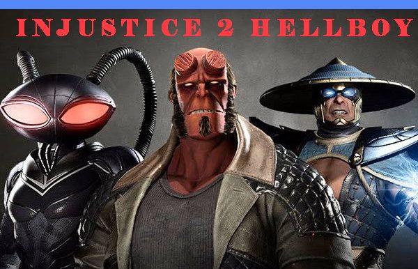 injustice 2 Hellboy