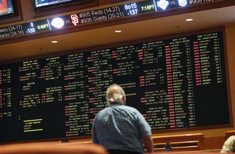 How does online sports betting work bears vs rams betting line
