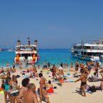 crowding at European beaches