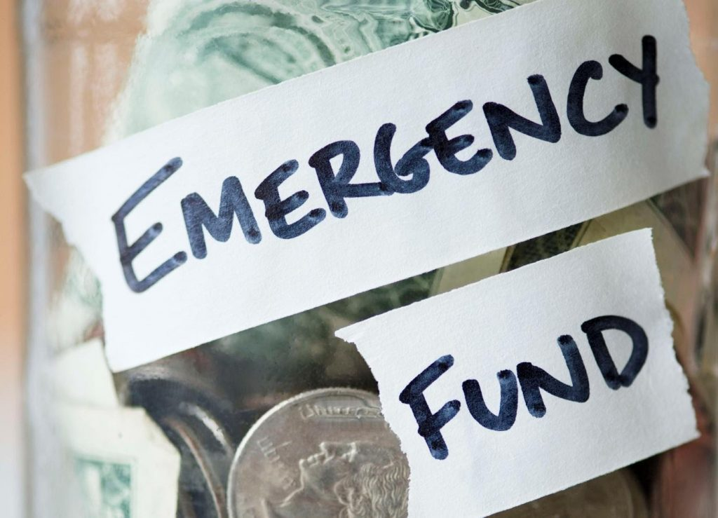 Negating the importance of emergency fund