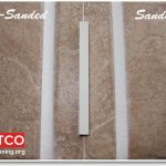 What is sanded vs. unsanded grout