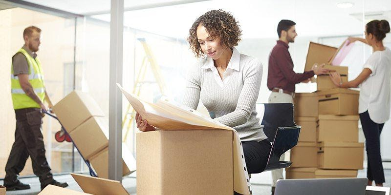 Managing employees during business relocation