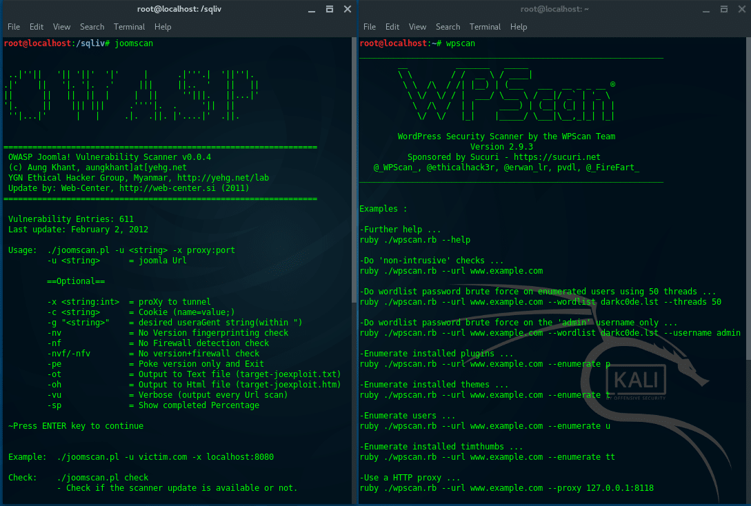 tools of kali linux