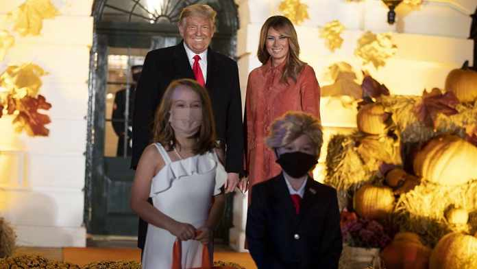 Trumps Host Halloween Celebration Adhering to All the Safety Measures