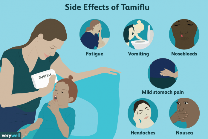 side effects of tamiflu