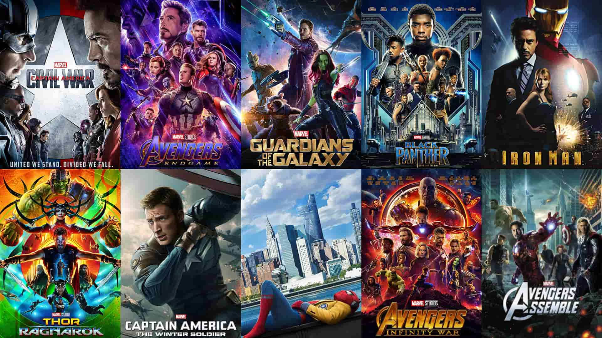 how to watch marvel movies