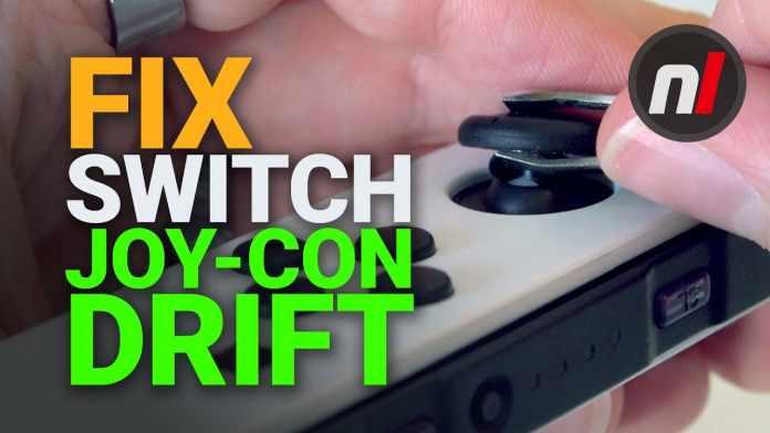 nintendo switch controller drift