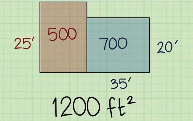 How to figure square feet