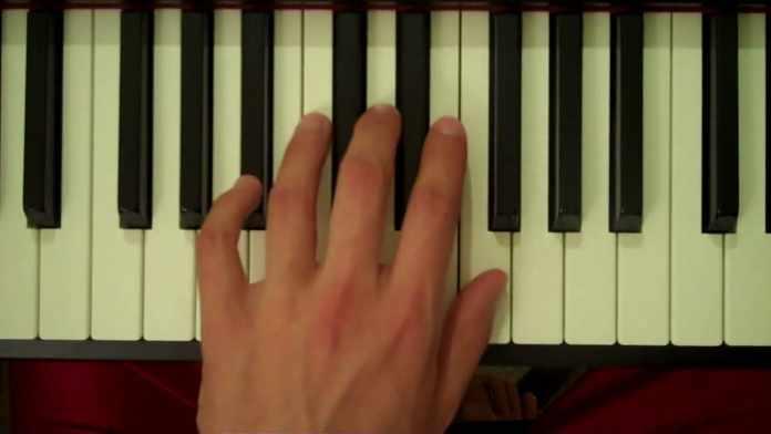 bb piano chord